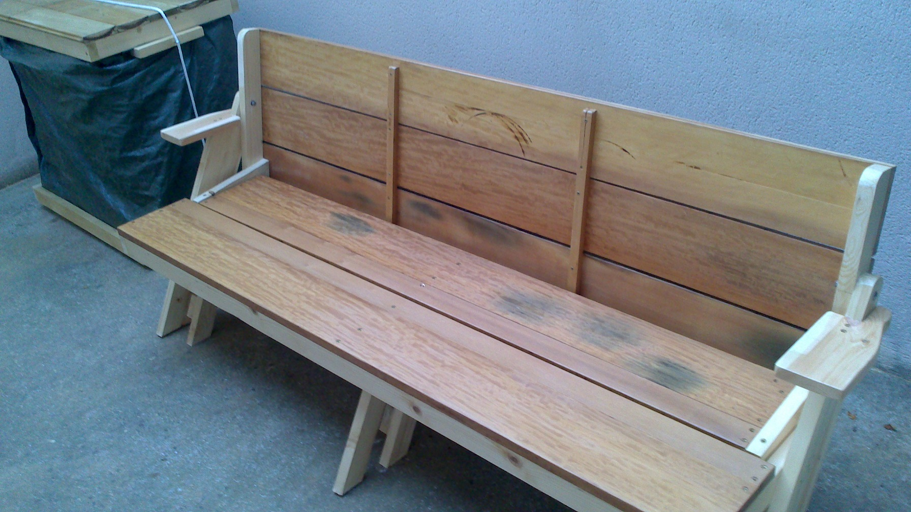 Banc-table de Georges