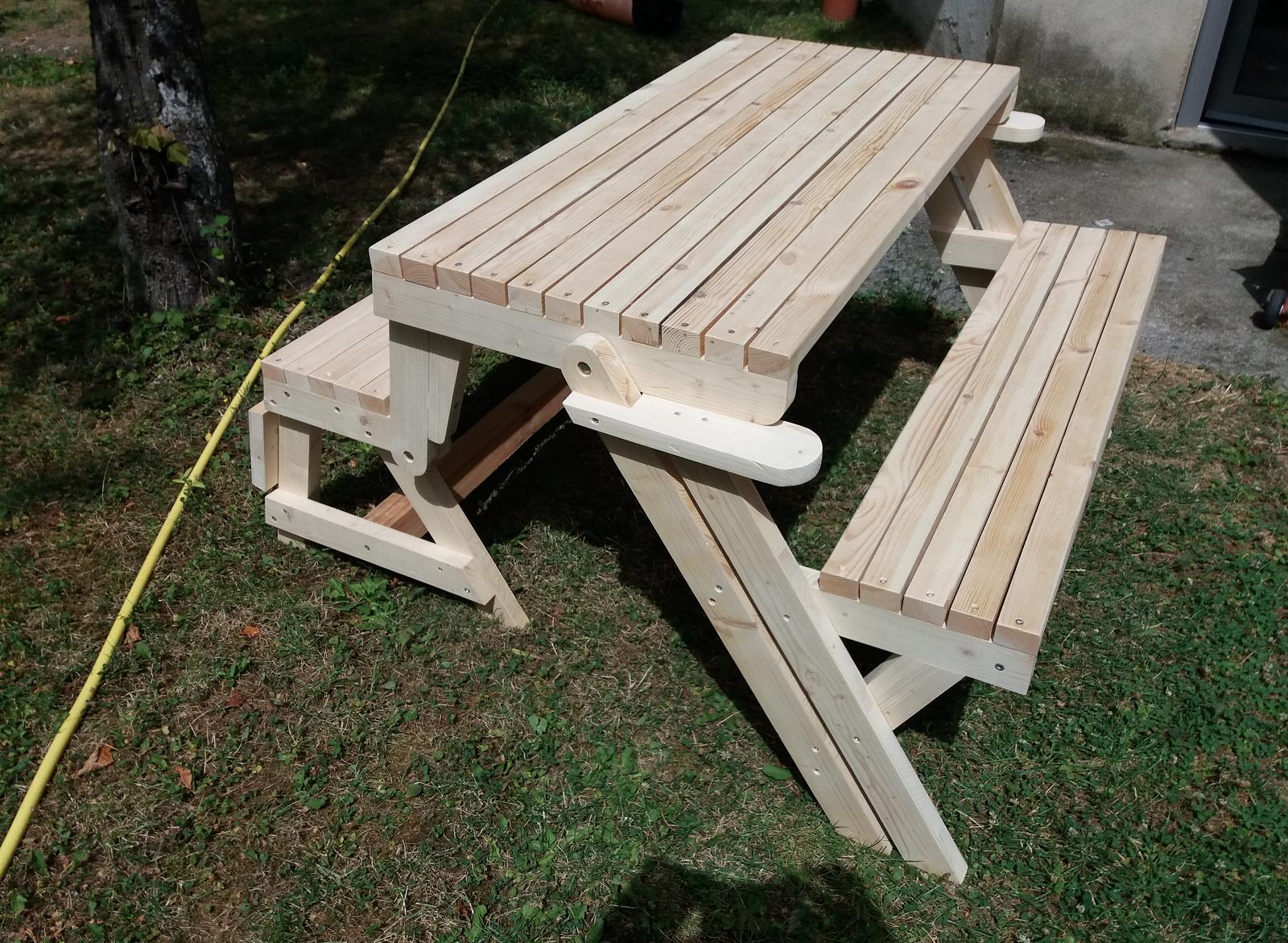 Des lecteurs ont construit le banc-table - Page 2
